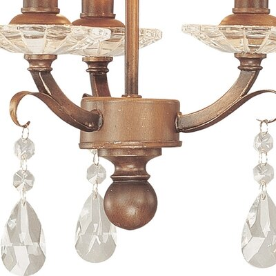 Troy Lighting Heirloom 3 Light Drum Foyer Pendant