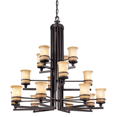 Troy Lighting Ranier 16 Light Chandelier