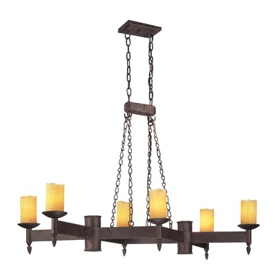 Academy 6 Light Kitchen Island Pendant