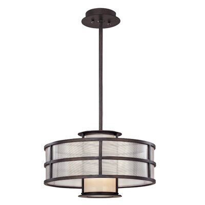 Troy Lighting Discus Drum Foyer Pendant