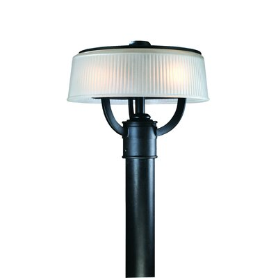 Troy Lighting Finley Two Light Outdoor Large Post Lamp in Federal Black
