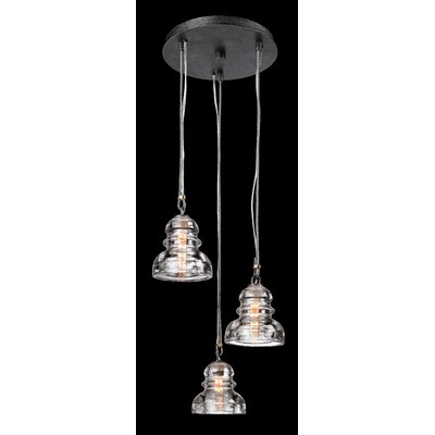 Menlo Park 3 Light Pendant