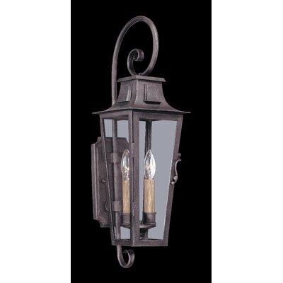 Troy Lighting French Quarter 2 Light Outdoor Wall Light