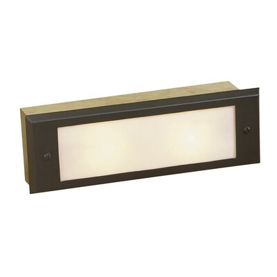 2 Light Outdoor Step Light Ii Wayfair