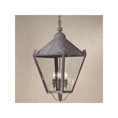 Troy Lighting Preston 4 Light Hanging Lantern