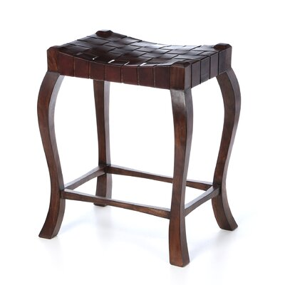 "William Sheppee Binks 26"" Counter Stool in Walnut Stain"