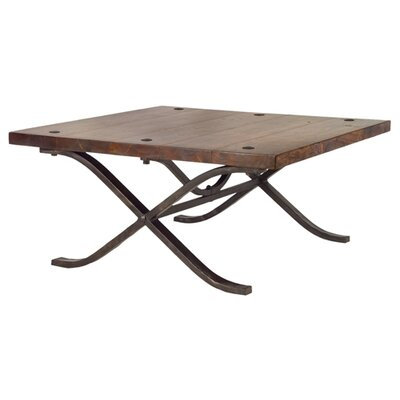 Rustic Wood Coffee Table Wayfair