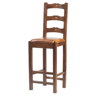 William Sheppee Tuscan High Back Counter Stool