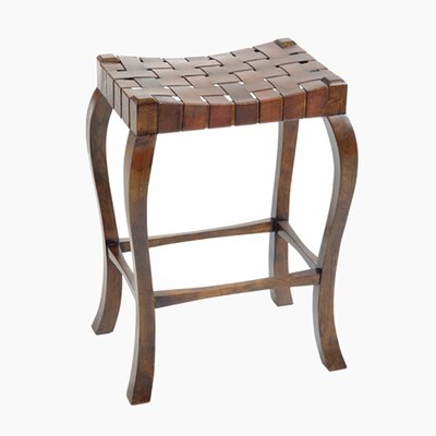 "William Sheppee Binks 30"" Bar Stool in Walnut Stain"
