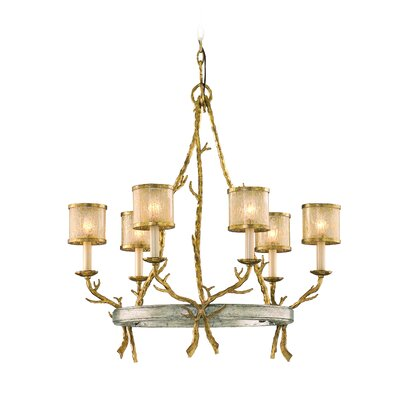 Parc Royale 6 Light Chandelier