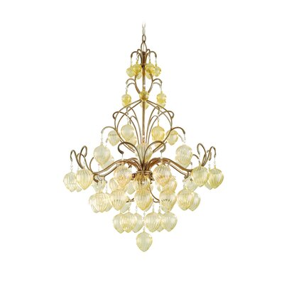 Venetian 6 Light Pendant