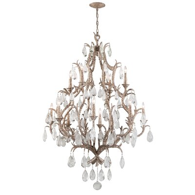 Amadeus 12 Light Crystal Chandelier