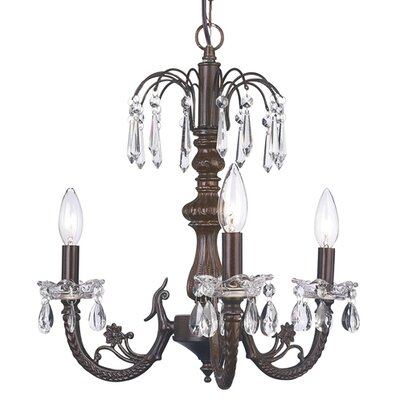 Jubilee Collection Waterfall 3 Light Chandelier