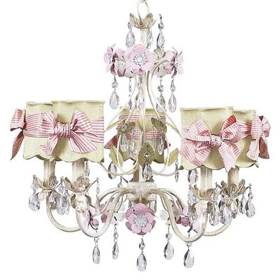 Flower Garden Chandelier with Optional Shade