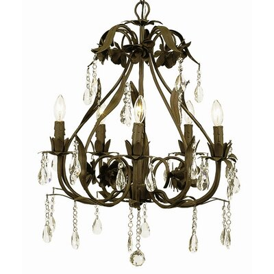 Jubilee Collection Ballroom Chandelier with Optional Shade and Sash