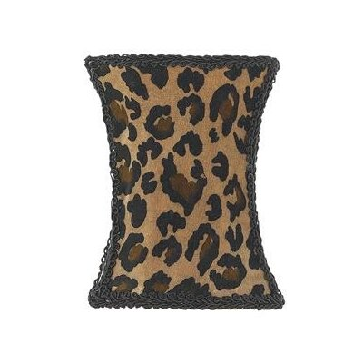 Jubilee Collection Leopard Print Hourglass Chandelier Shade