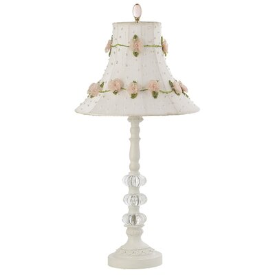 Jubilee Collection Three Glass Ball Medium Table Lamp