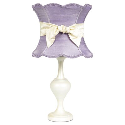 Jubilee Collection Curvature Large Table Lamp with Scallop Hourglass Shade
