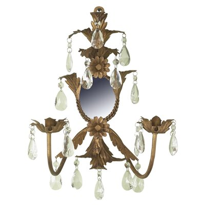 Jubilee Collection Crystal Wall Sconce