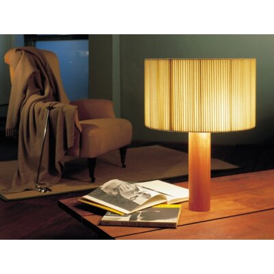 """Santa & Cole Moragas 31.2"""" H Table Lamp with Drum Shade"""