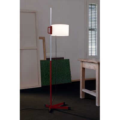 Santa & Cole TMC Chrome Floor Lamp