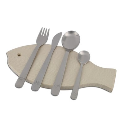 mono Mono Kids Petit 4 Piece Flatware by Peter Raacke