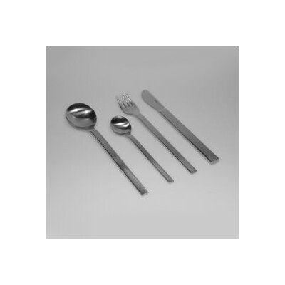 mono Mono-A 5 Piece Flatware Set with Short Blade Table Knife and Giftbox by Peter Raacke