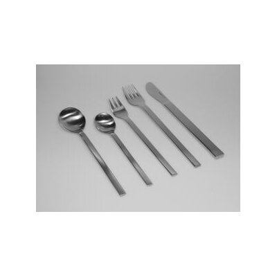 mono Mono-A 20 Piece Flatware Set with Short Blade Table Knife and Giftbox by Peter ...