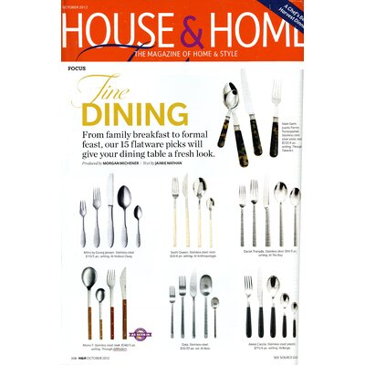 Mono-T 5 Piece Flatware Set by Peter Raacke