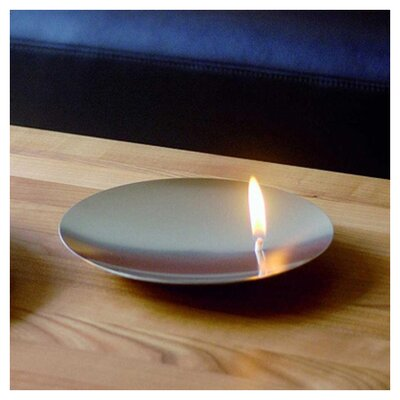 mono Mono On Fire Concave Oil Lamp by Franz Maurer