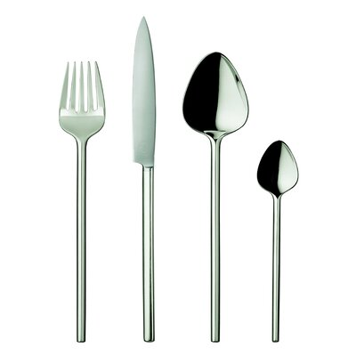 POTT 40 Collection Silver 5 Piece Flatware Set