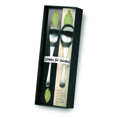 POTT Gift Ideas Tapas Stainless Steel Serving (Set of2)