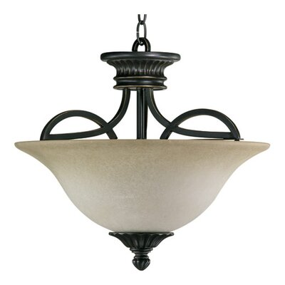 Quorum Anatola 3 Light Convertible Inverted Pendant