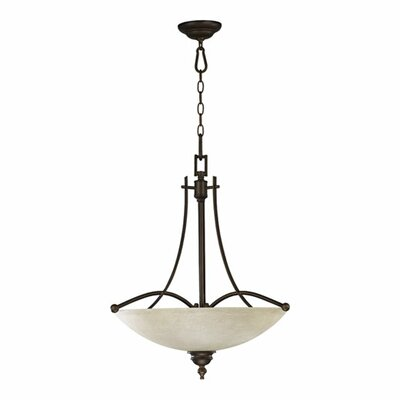 Quorum Aspen 4 Light Inverted Pendant