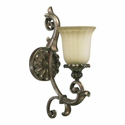 Quorum Barcelona 1 Light Wall Sconce