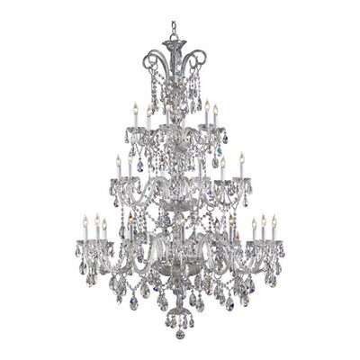 Quorum Bohemian Katerina 24 Light Chandelier