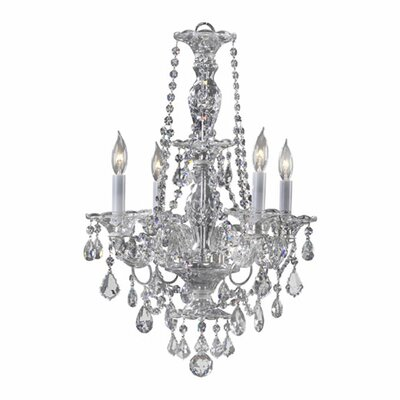 Bohemian Marien 4 Light Chandelier