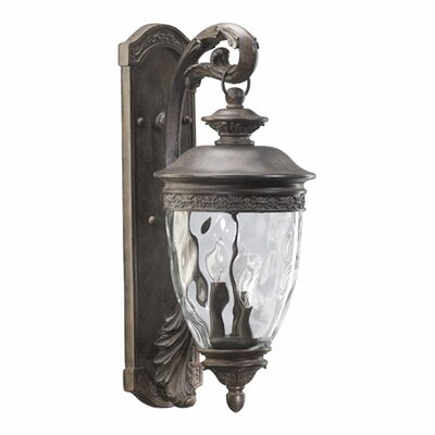 Quorum Georgia Outdoor Wall Lantern