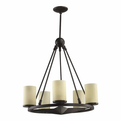 Quorum Lone Star 5 Light Chandelier