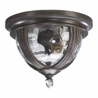 Quorum Sloane 2 Light Flush Mount