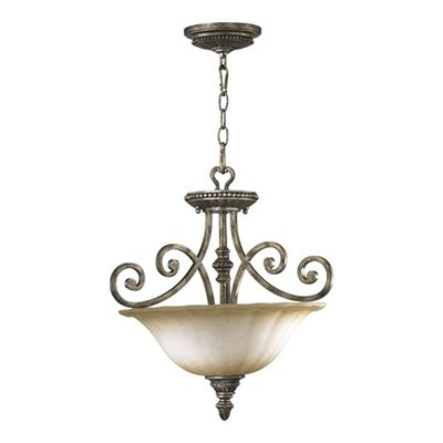 Quorum Summerset 3 Light Convertible Inverted Pendant