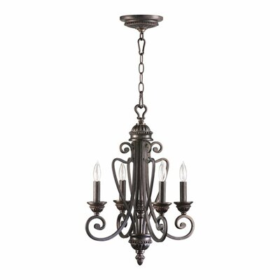 Quorum Summerset 4 Light Entry Chandelier