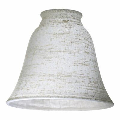 Quorum Linen Glass Shade for Ceiling Fan Light Kit