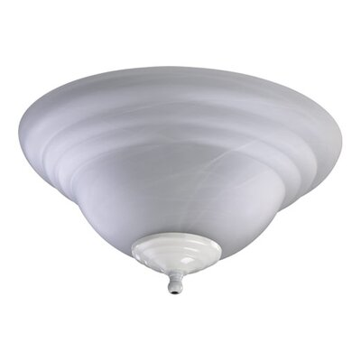 Quorum 2 Light Bowl Ceiling Fan Light Kit