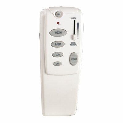 Quorum Fan Remote in White