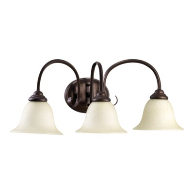 Quorum Spencer 3 Light Bath Vanity Light