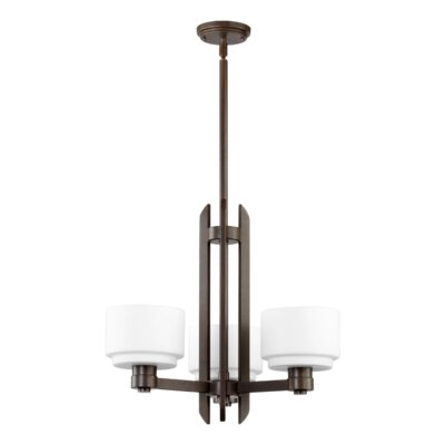 Quorum Stillman 3 Light Chandelier