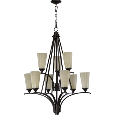 Quorum Winslet 9 Light Chandelier