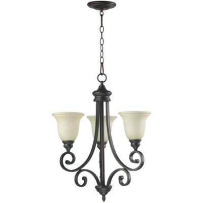 Quorum Bryant 3 Light Chandelier