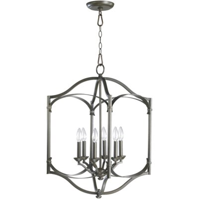 Quorum Atwood 6 Light Foyer Pendant